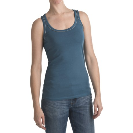 Bead Trim Tank Top (For Women)
