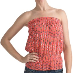 Printed Tube Top - Elasticized Waist (For Women)
