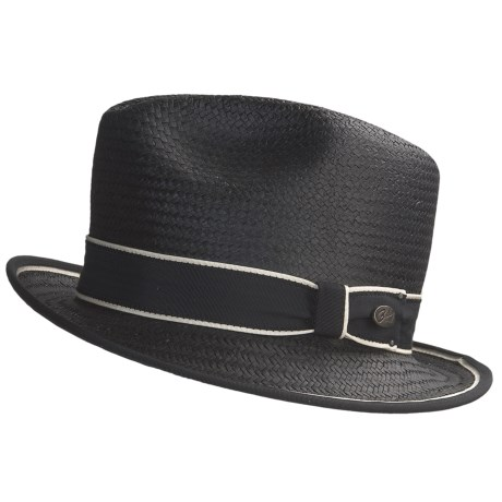 Bailey of Hollywood Drake Straw Fedora Hat (For Men)