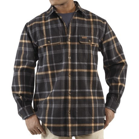 Carhartt Youngstown Flannel Shirt Jacket - Thermal Lined (For Tall Men)