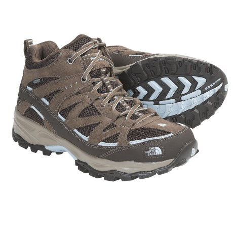 The North Face Tyndall Mid Hiking Boots - Waterproof (For Women)