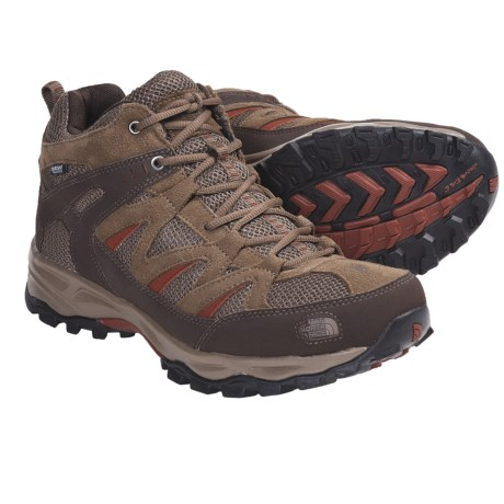 The North Face Tyndall Mid Hiking Boots - Waterproof (For Men)