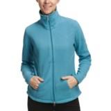 Polar Fleece Jacket - Mock Neck (For Women)