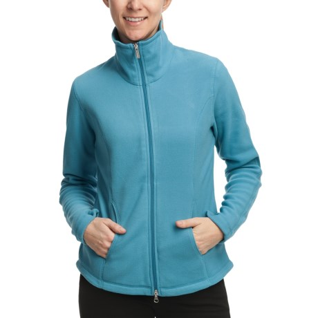 Polar Fleece Jacket - Mock Neck (For Women)