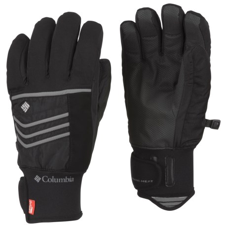 Columbia Sportswear Gathering Storm Omni-Heat® OutDry® Short Gloves - Waterproof, Insulated (For Men)