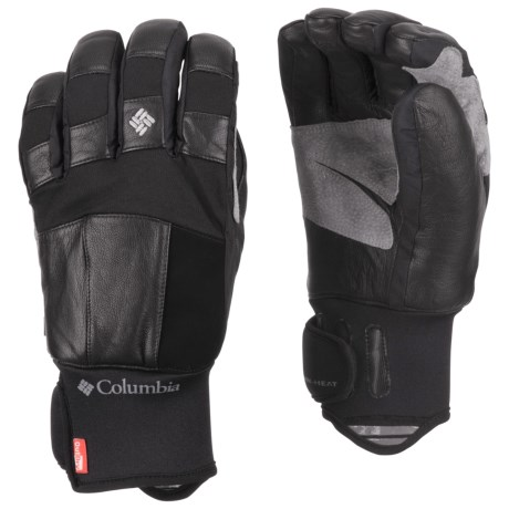 Columbia Sportswear Mountain Monster Short Omni-Heat® Gloves - Waterproof (For Men)