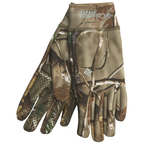 Columbia Sportswear Hit the Trail Camo Gloves (For Men)