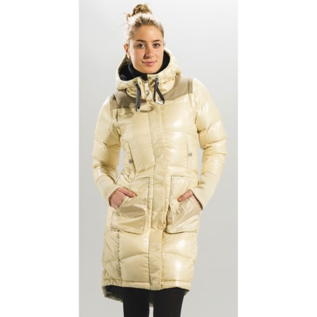 Lole Atelier Long Down Jacket - 600 Fill Power, Removable Sleeves (For Women