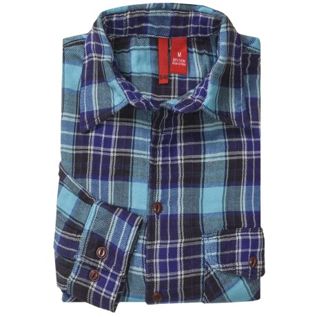 548 Double-Faced Flannel Shirt - Long Sleeve (For Men)