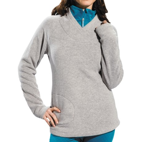 Lole Warm Shirt - Fleece, UPF 50+, Long Sleeve (For Women)