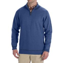Martin Gordon Wool Sweater - Zip Neck (For Men)