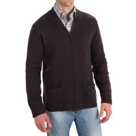 Martin Gordon Merino Wool Cardigan Sweater (For Men)