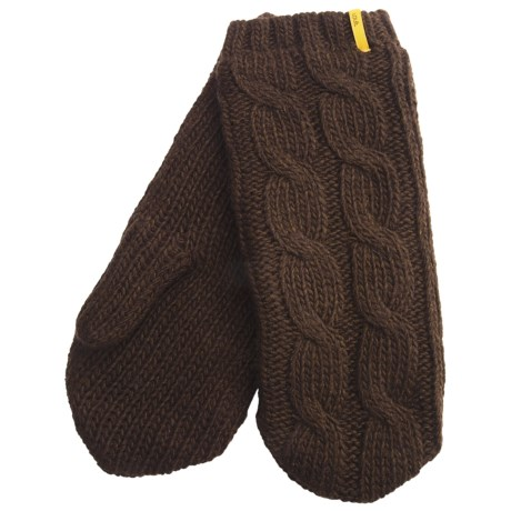 Lole Cable Mittens (For Women)