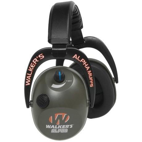Walker's Game Ear Alpha Electronic Ear Muffs