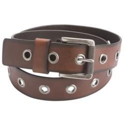 American Beltway Single-Prong Leather Belt (For Men)