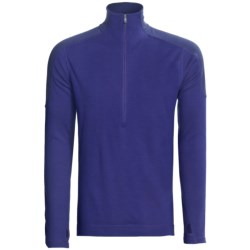 SmartWool NTS Midweight Base Layer Top - Merino Wool, Funnel Zip (For Men)