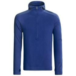 SmartWool NTS Midweight Base Layer Hoodie Sweatshirt - Merino Wool, Zip Neck (For Men)