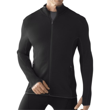 SmartWool TML Mid Sportknit Shirt - Merino Wool, Full Zip, Long Sleeve (For Men)