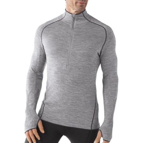 SmartWool TML Light Sportknit Half-Zip Shirt - Merino Wool. Long Sleeve (For Men)
