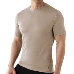 SmartWool Microweight Merino Wool T-Shirt - UPF 30, Short Sleeve (For Men)