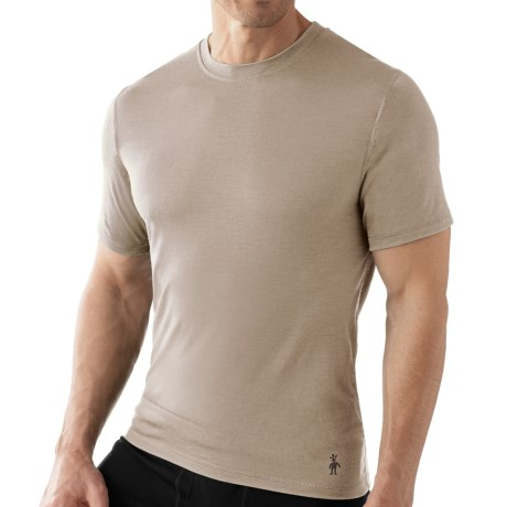 SmartWool Microweight Merino Wool T-Shirt - UPF 30, Short Sleeve (For Men)