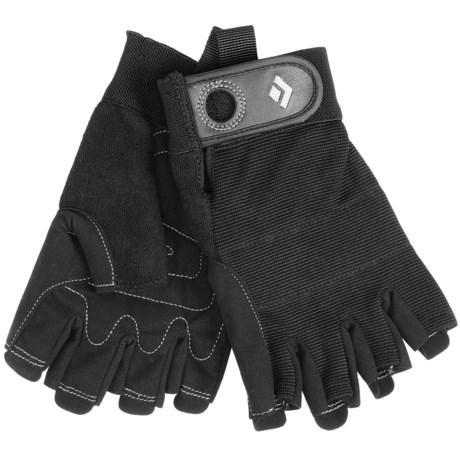 Black Diamond Equipment Crag Climbing Gloves - Half-Finger (For Men and Women)