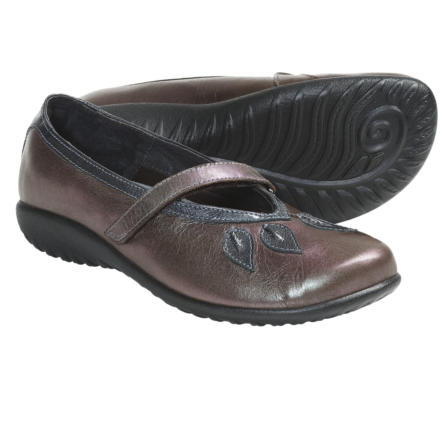 Naot Women's Chianti Sandals in Black Madras Leather
