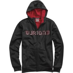 Burton Bonded DRYRIDE Thermex Hoodie Sweatshirt - Full Zip (For Men)