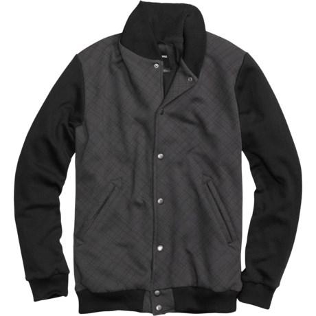 Burton Numberman Baseball-Style Fleece Jacket (For Men)