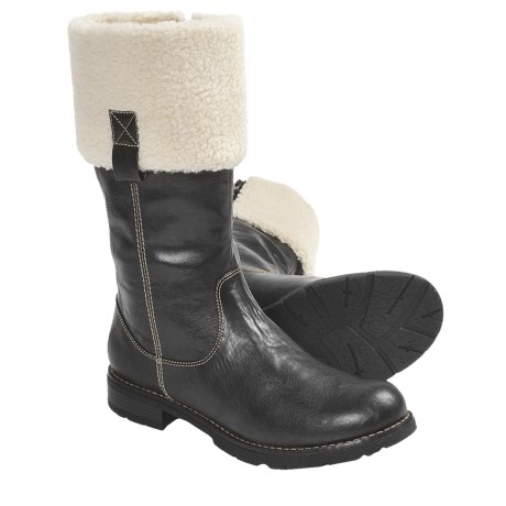 Ara Opal Shearling Cuff Boots (For Women)