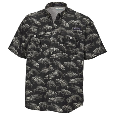 Columbia Sportswear PFG Super Bahama Shirt - UPF 30, Short Sleeve (For Men)