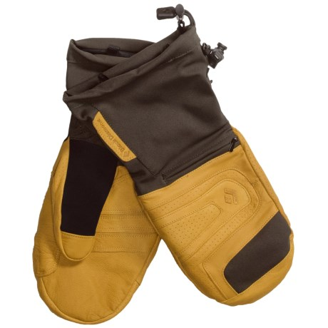 Black Diamond Equipment Virago Gore-Tex® XCR® Mittens - Waterproof, Insulated (For Men)