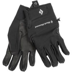 Black Diamond Equipment Pilot Soft Shell Gloves (For Men)