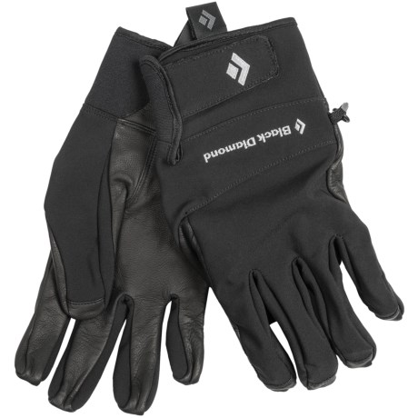 Black Diamond Equipment Pilot Soft Shell Gloves (For Men)