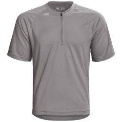 Fox Racing Baseline Mountain Bike Jersey - Zip Neck, Short Sleeve (For Men)