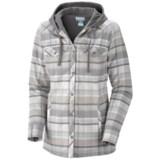 Columbia Sportswear Reverse Shred Shirt Jacket - Cotton Flannel (For Women)