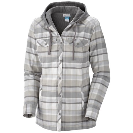 Columbia Sportswear Reverse Shred Shirt Jacket - Cotton Flannel (For Women)