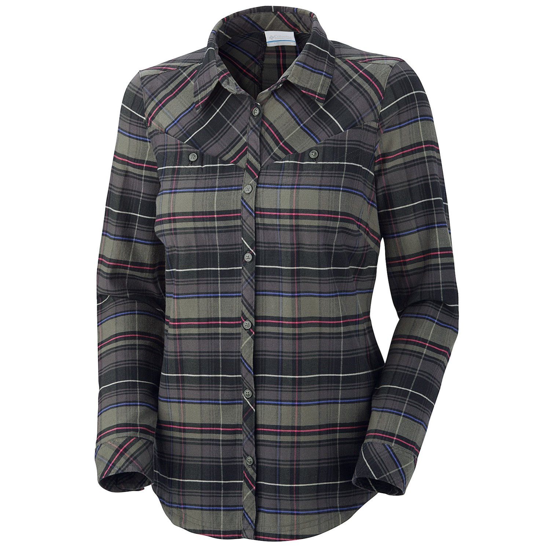 Columbia Sportswear Pettygrove Plaid Flannel Shirt For