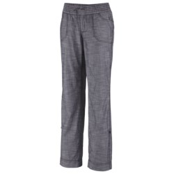 Columbia Sportswear Shakedown Chambray Pants - Roll-Up Legs (For Plus Size Women)