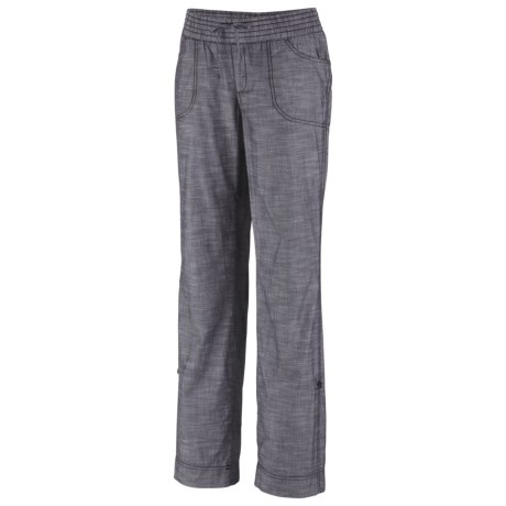 Columbia Sportswear Shakedown Chambray Pants - Roll-Up Legs (For Plus Size Women)