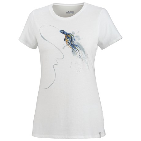 Columbia Sportswear Lure Trail Shirt - Short Sleeve (For Women)