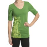 Columbia Sportswear Everglade Oasis T-Shirt - V-Neck, Short Sleeve (For Women)