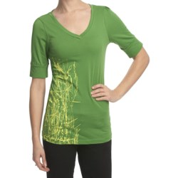 Columbia Sportswear Everglade Oasis T-Shirt - V-Neck, Short Sleeve (For Women)