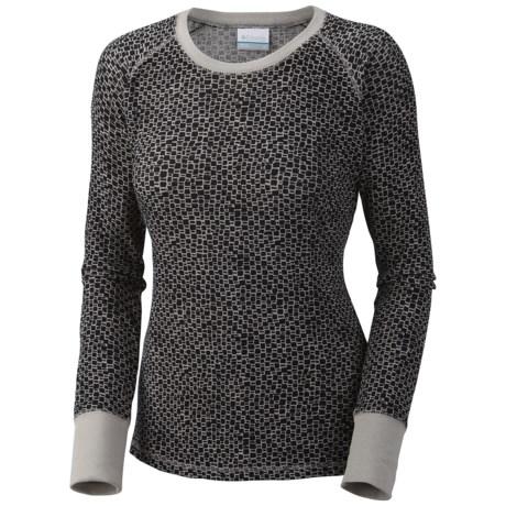 Columbia Sportswear Taylor Trail Print Waffle Shirt - Long Sleeve (For Plus Size Women)