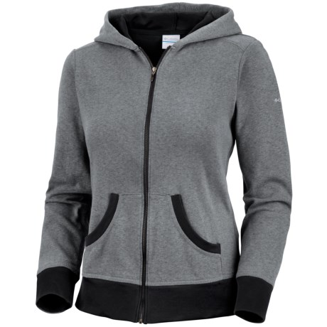 Columbia Sportswear Heather Honey II Hoodie Sweatshirt - Full Zip (For Plus Size Women)