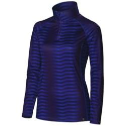 Neve Couloir Base Layer Top - Zip Neck, Long Sleeve (For Women)