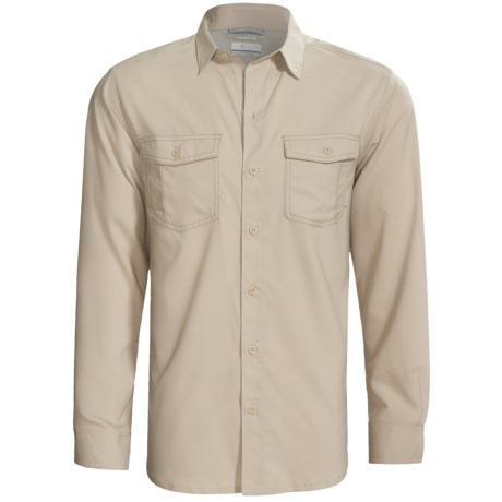 Columbia Sportswear Utilizer Solid Shirt - UPF 40, Long Roll-Up Sleeve (For Men)