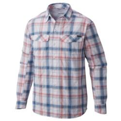 Columbia Sportswear Silver Ridge Plaid Shirt - UPF 30, Long Sleeve (For Big and Tall Men)