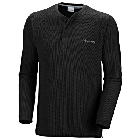 Columbia Sportswear Olstad Henley Shirt - Long Sleeve (For Big Men)