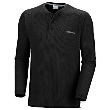 Columbia Sportswear Olstad Henley Shirt - Long Sleeve (For Men)
